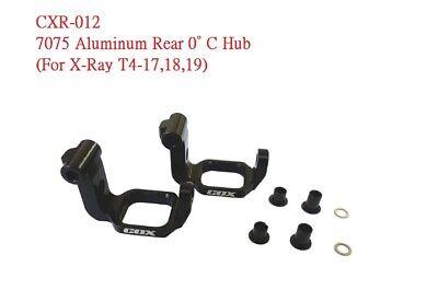 RC-COX 7075 Aluminum Rear 0° C Hub For X-Ray T4-17,18,19 CXR-012