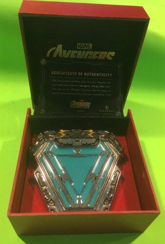 Marvel Avengers Endgame Iron Man Glow In The Dark Arc Reactor Wearable Replica
