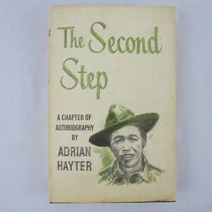 The-Second-Step-by-Adrian-Hayter-1st-Edition-1962-Signed-Hardcover-Dust-Jacket