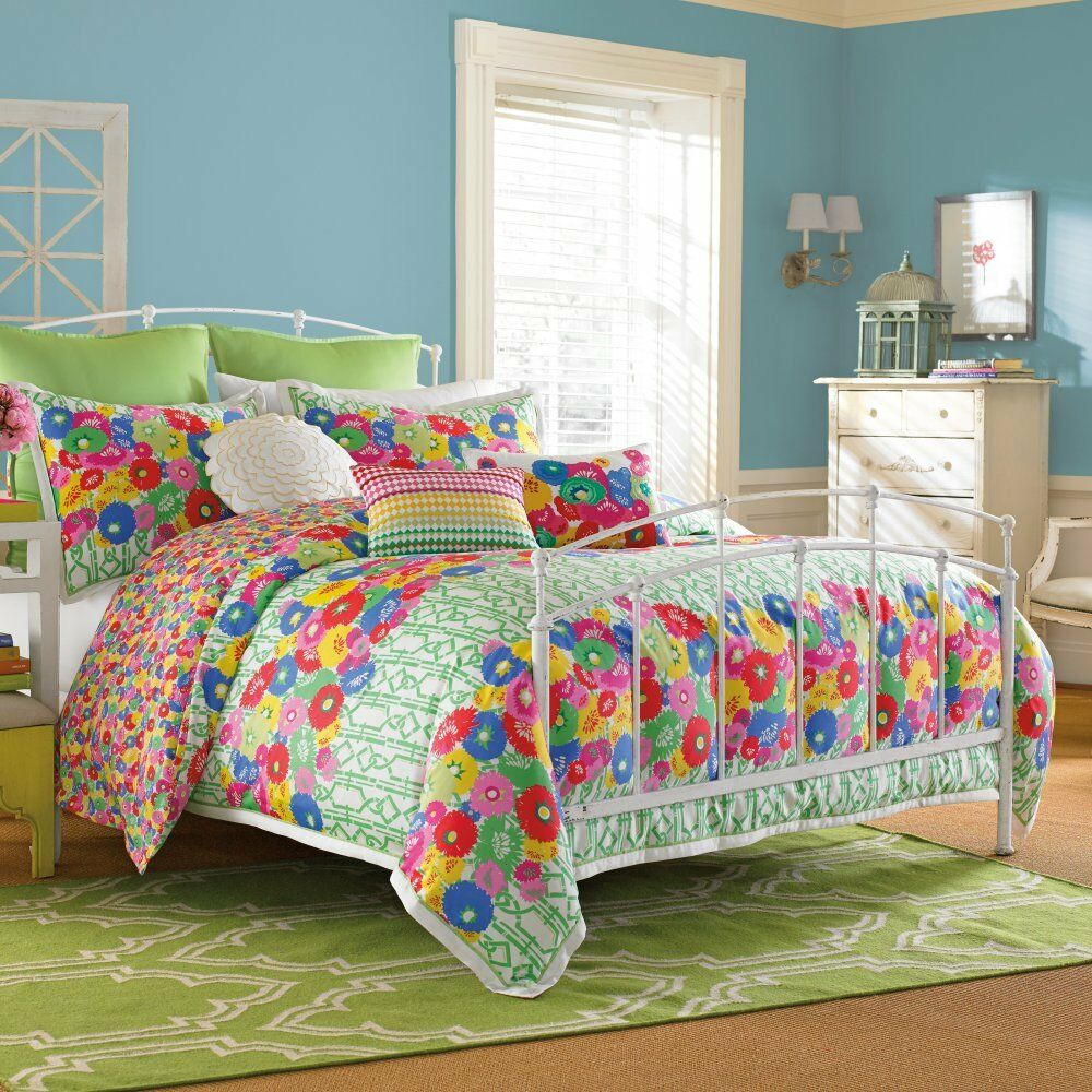 NIP West Point Home Colier Campbell English Bloom King Duvet Cover