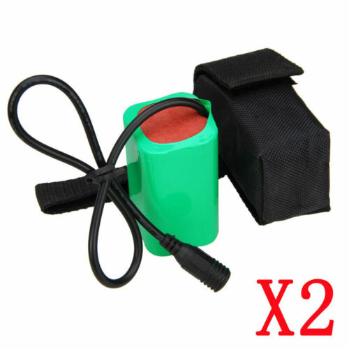 16000 MAH 8.4V lithium Rechargeable Battery Pack For LED Bike Bicycle Head Light