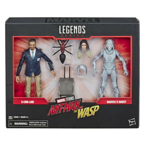 Marvel Legends 80 Years Ant-Man /& The Wasp Luis /& Ghost