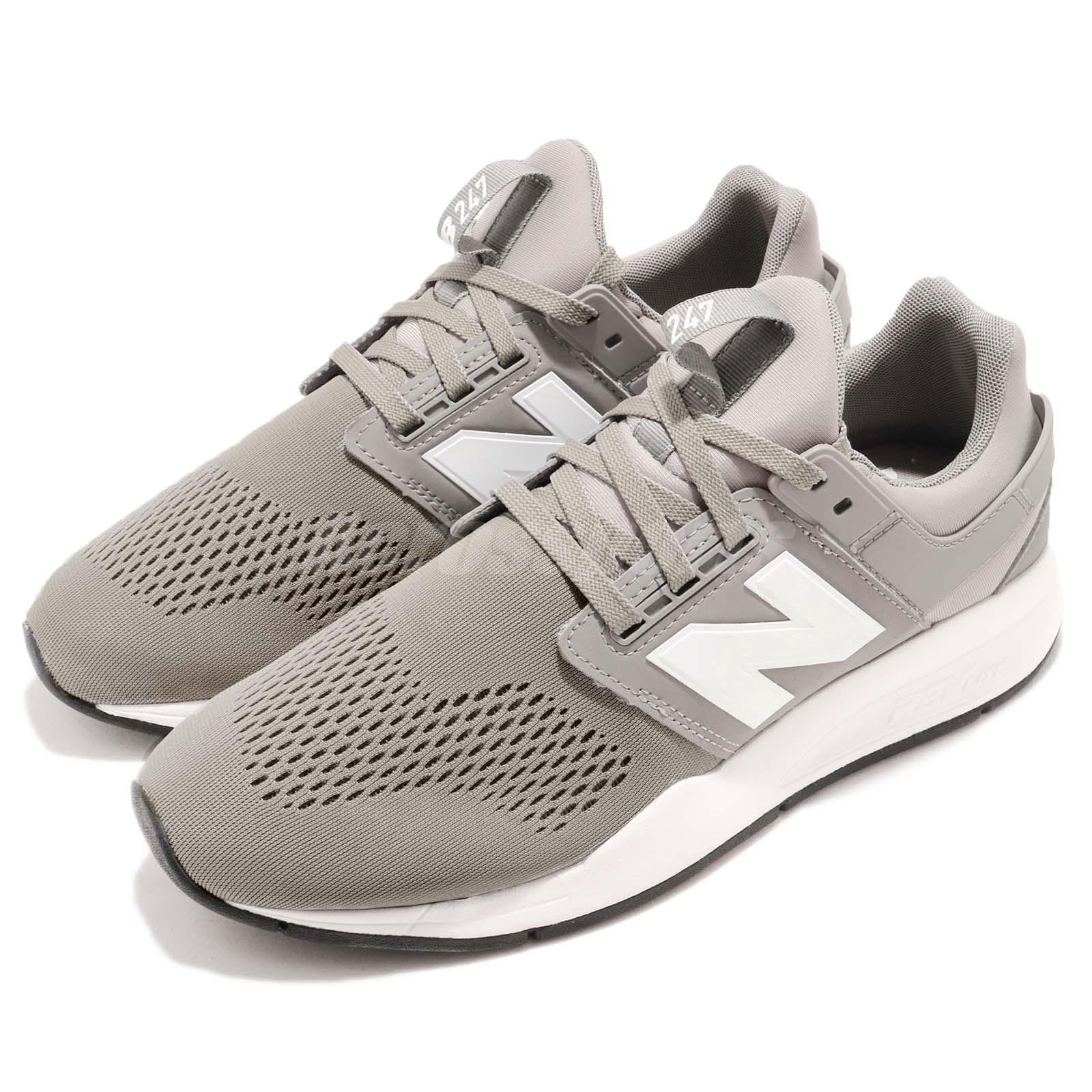New Balance MS247EG D  Gris  blanc homme fonctionnement Casual chaussures Sneakers MS247EGD