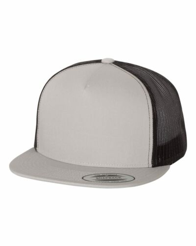New Yupoong Five-Panel Classic Trucker Cap Meshback Snapback Hat 6006