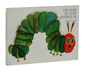 The-Very-Hungry-Caterpillar-ERIC-CARLE-True-First-Edition-1st-Printing-1969