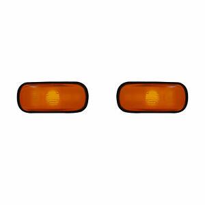 2 REPETITEUR SAAB 9000 09/1984-12/1998 LATERAUX ORANGE GAUCHE + DROIT