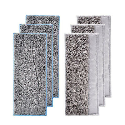Washable Wet Dry Mop Cloth Cleaning Cloth Pad Spare Set For iRobot Braava Jet M6