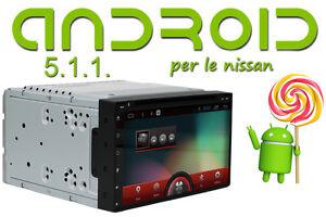 Autoradio-2-din-ANDROID-5-1-per-Navigatore-GPS-Nissan-Qashqai-JUKE-comandi-volan