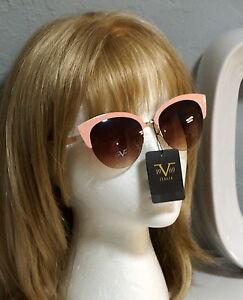 cc8e55c3a57 Image is loading V1969-ITALIA-LORENZA-Pink-Gold-Sunglasses -LOGO-Versace19V69-