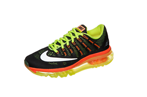 official photos 9cd3f f8aeb Image is loading Nike-Air-Max-2016-Sneakers-Boys-039-Grade-