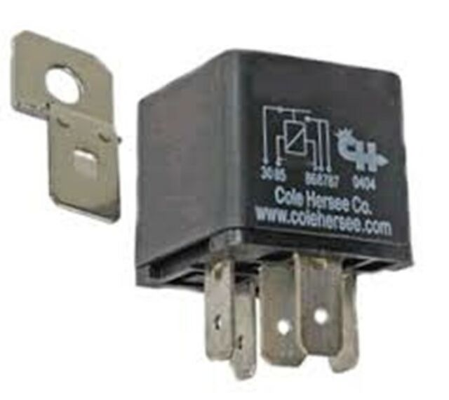 Cole Hersee RC400112DN Solenoid and Relays | eBay on bosch relays, hella relays, standard ignition relays, ford relays,