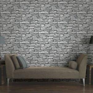 Détails sur Neuf Arthouse Vip Marocain Mur de Pierre Gris Effet Brique  Papier-Peint Photo