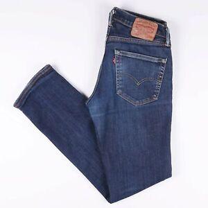 Vintage-Levi-039-s-511-homme-bleu-Skinny-Jeans-W31-L32