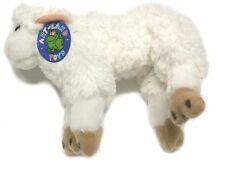 Süßes Plüsch-Lamm Plüschtier Plüschfigur Osterlamm Schaf Schäfchen Ostern (OVP)