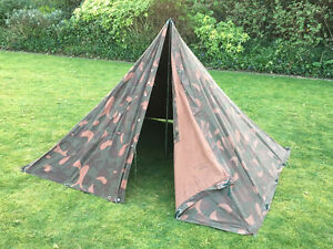Image is loading Genuine-HUNGARIAN-Military-2-Man-TEEPEE-Tent-canvas- & Genuine HUNGARIAN Military 2 Man TEEPEE Tent canvas bushcraft ...