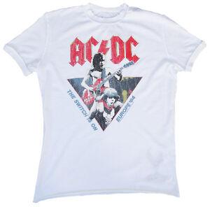 commutateur Europe Star Acdc '84 Rock dc est Amplified Ac sur Le Vintage Cool n0CqwBSRP