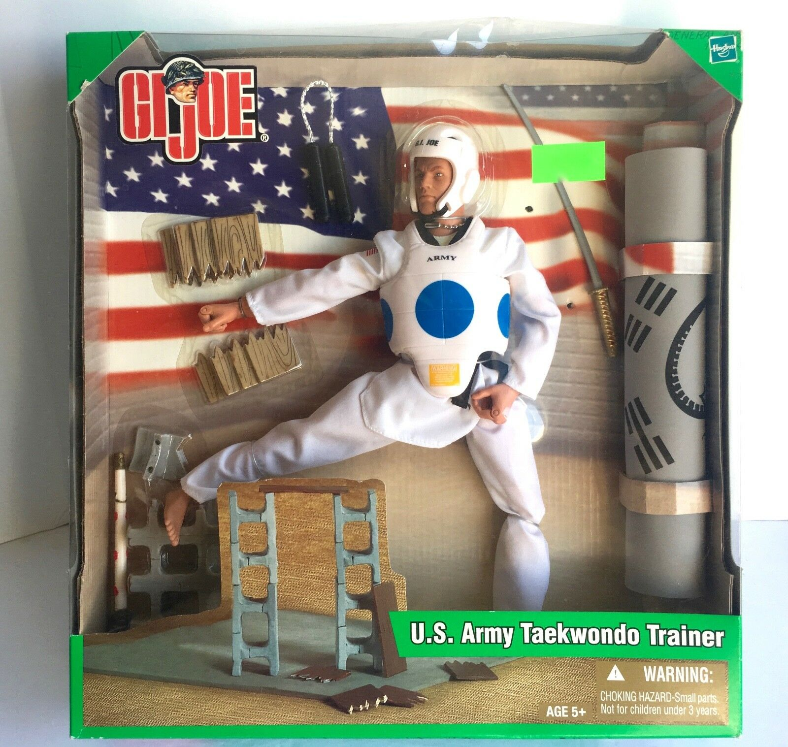 G. I. Joe U. S. Ejército entrenador de taekwondo GJ-4