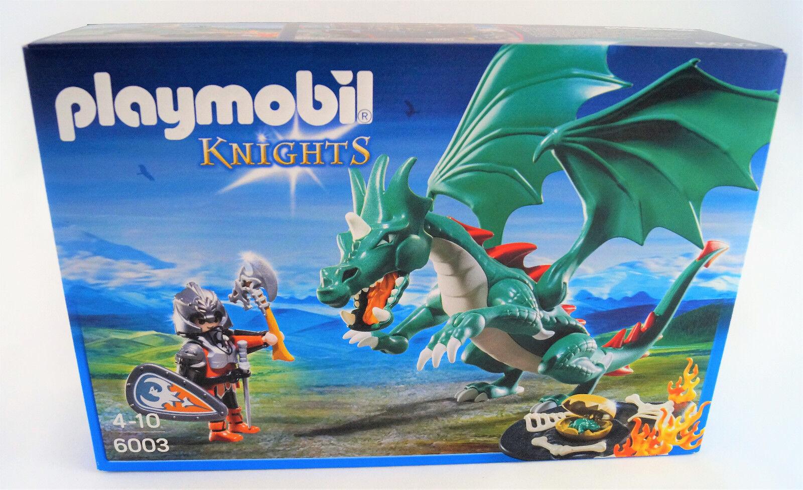 Playmobil Knights 6003 Großer Burgdrache Castle Dragon Neuware   New