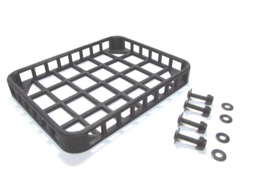 scx10 Traxxas truck Axial Tamiya RC4WD 1//10 Scale Roof Rack for crawler