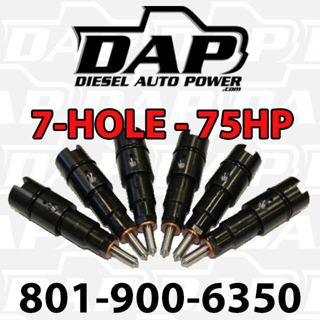 + 75HP Performance Injectors Dodge Diesel Cummins RAM Cummins 24v 75 Jammer vp44