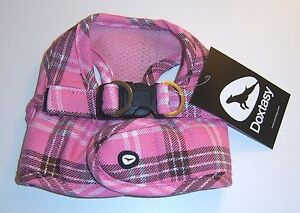 DOXTASY-Comfy-Harness-Scottish-pink-Groesse-XS-L