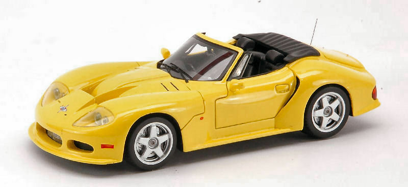 Marcos LM 500 Convertible 1996 jaune 1 43 Model S0787 SPARK MODEL