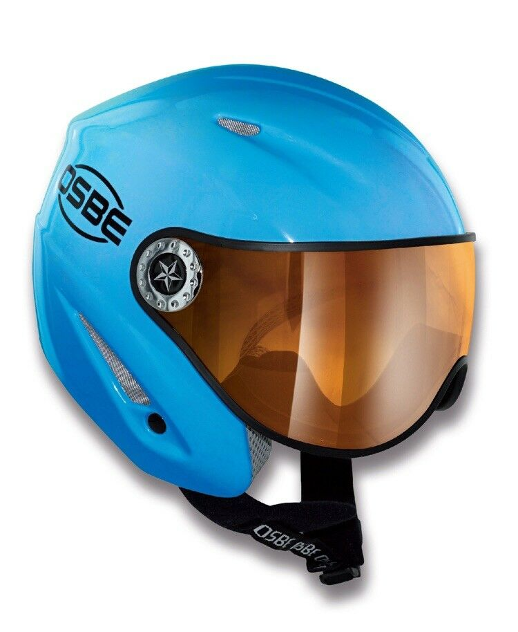 Osbe Start R Mono Ski And Snowboard Helmet bluee. S 54cm. Huge Discount From 200