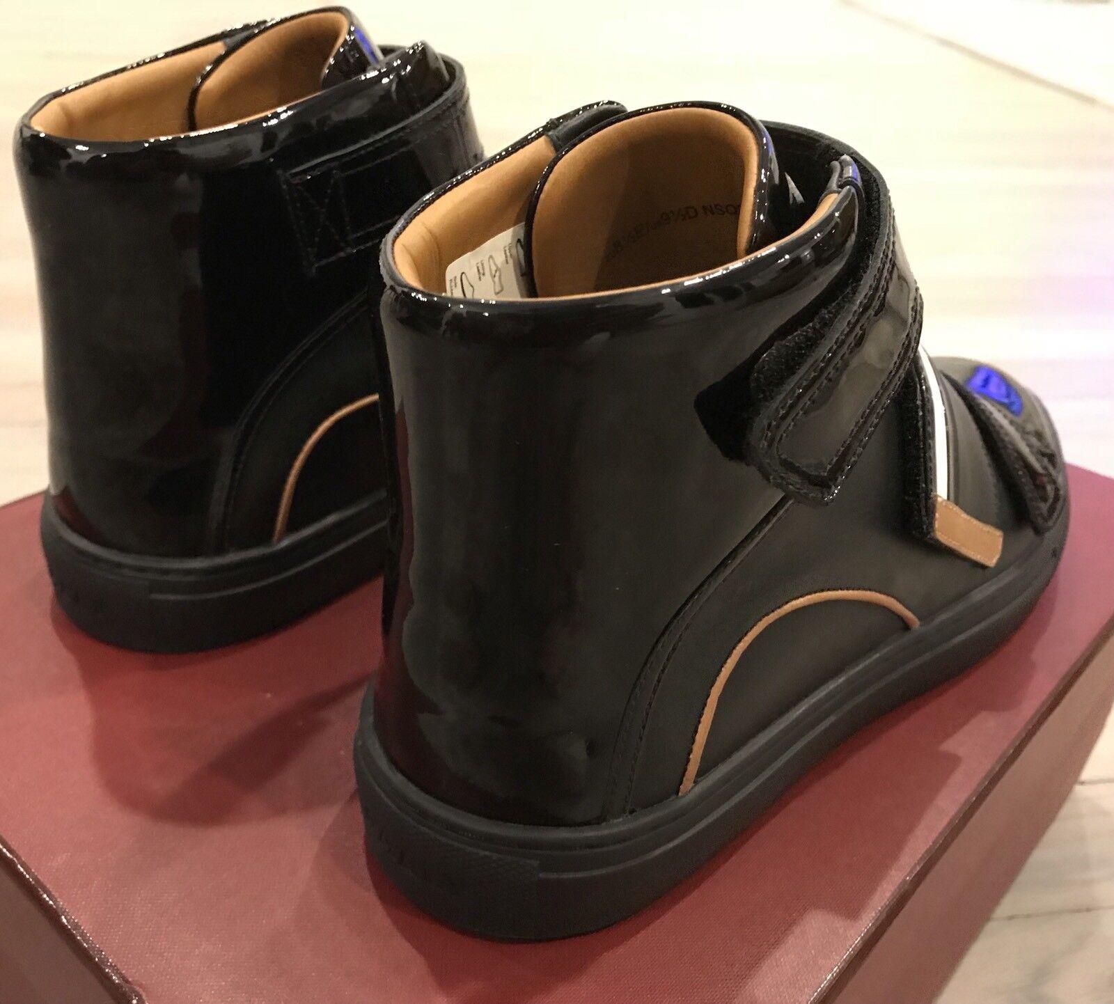 700  Bally Bally Bally Herick nero Leather High Tops scarpe da ginnastica Dimensione US 9 b3173b