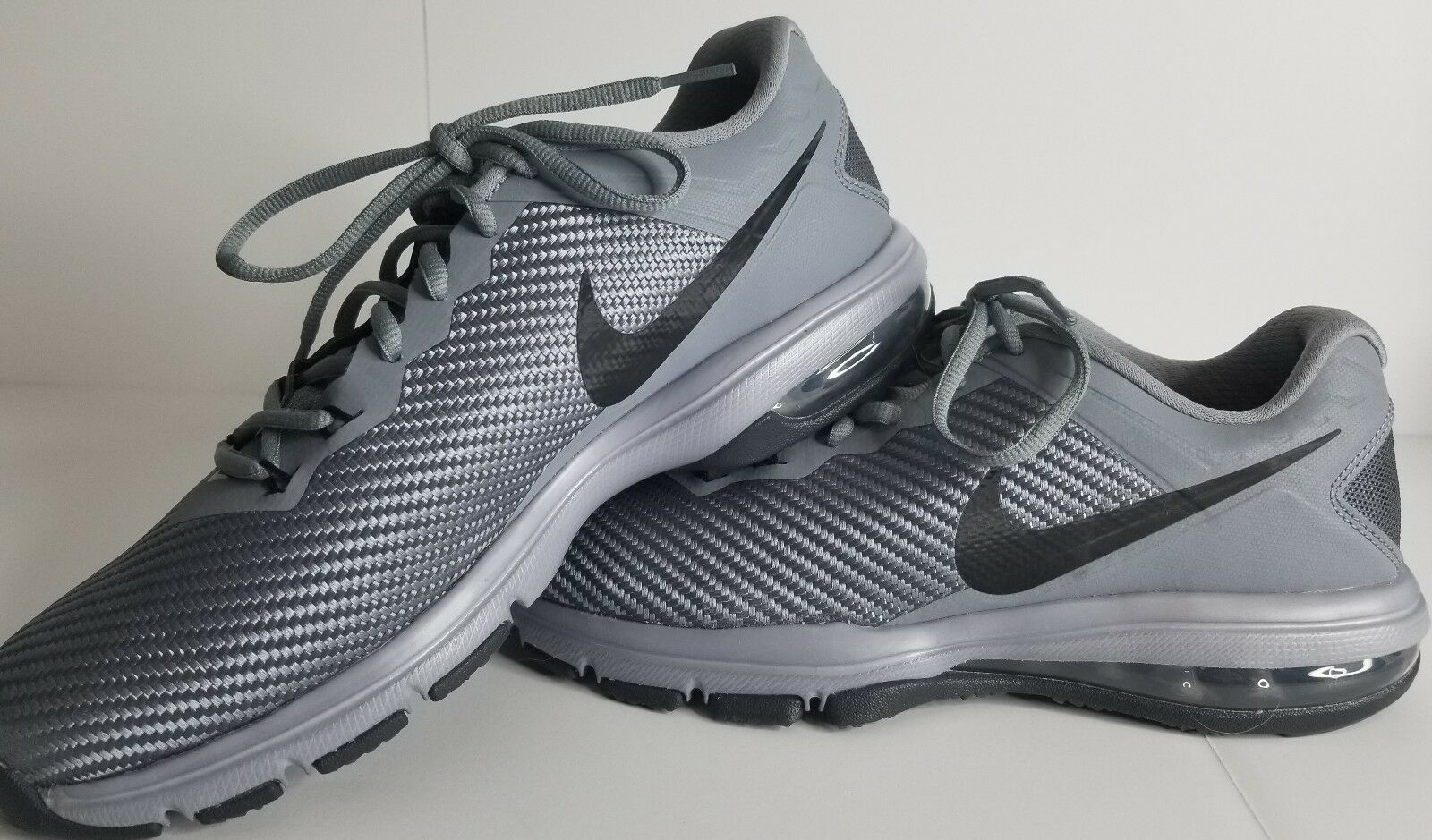 Nike Air Max Full Ride TR 1.5 Mens 869633 011 Cool Gray Training Shoes Size 8.5
