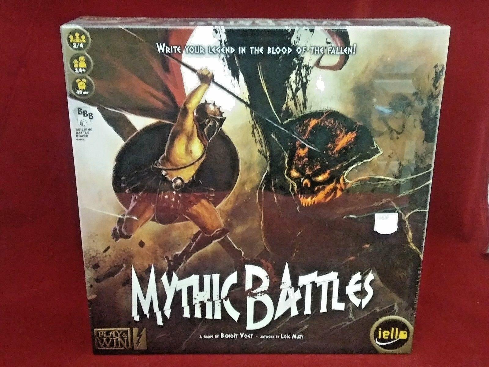 MYTHIC BATTLES Core RPG Board Game Iello Greek Gods Benoit Vogt NEW Sealed