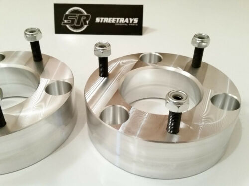 """CHEVY GMC CADILLAC 07-18 FRONT 3/"""" UPPER STRUT SPACERS LIFT LEVELING KIT SR"""