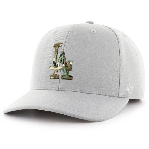 47 Brand Adjustable Cap CAMOFILL LA Dodgers steel grau