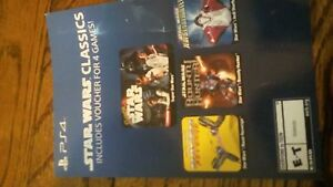 Details about Star Wars Classics *4 Games!* PS4 PSN Voucher Code  (Playstation 4)