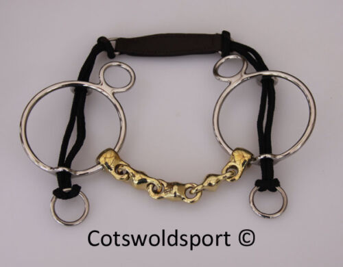 CS Waterford German Silver Curb Gag 140mm 5.5""