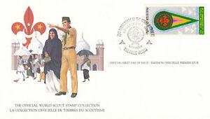 14058-Pakistan-FDC-Card-Scouts-Karachi-23-December-1982