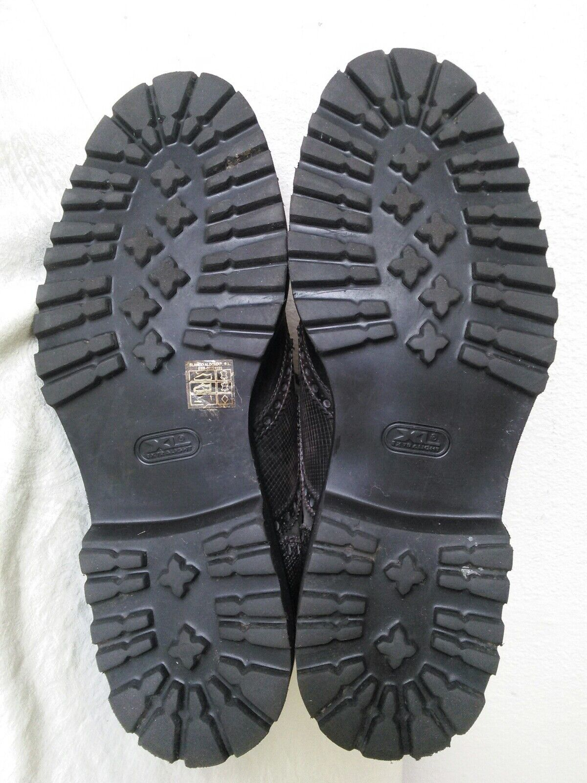 MAGNANNI para hombre Enzo punta del ala Botas al al al tobillo con Cordones Cuero Gris M 5b1f25