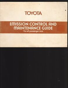 Toyota-1978-Emission-Control-amp-Maintenance-Guide-for-all-Passenger-Cars