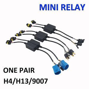 dodge ram headlight plug wiring diagram easy relay harness for h4/h13/9007 hi/lo bi-xenon hid ... h13 headlight plug wiring diagram