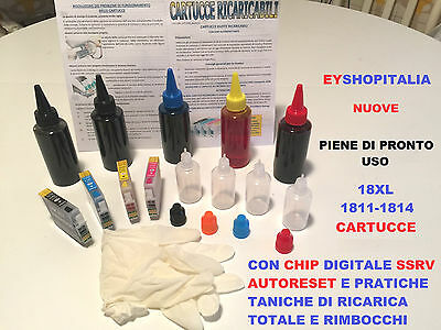 RICARICABILI 18XL CARTUCCIA INCHIOSTRO KIT PER XP-102 XP-202 XP-205 XP-212