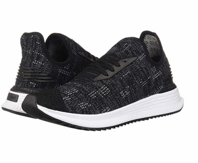 14023711ae0 PUMA 36660102 AVID EVOKNIT MOSAIC Mn´s (M) Black Textile Athletic Shoes