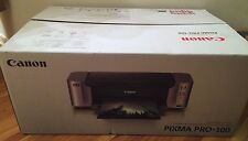 NEW! Canon Pixma Pro-100 Inkjet Photo Printer - Body Only - No Ink or Printhead