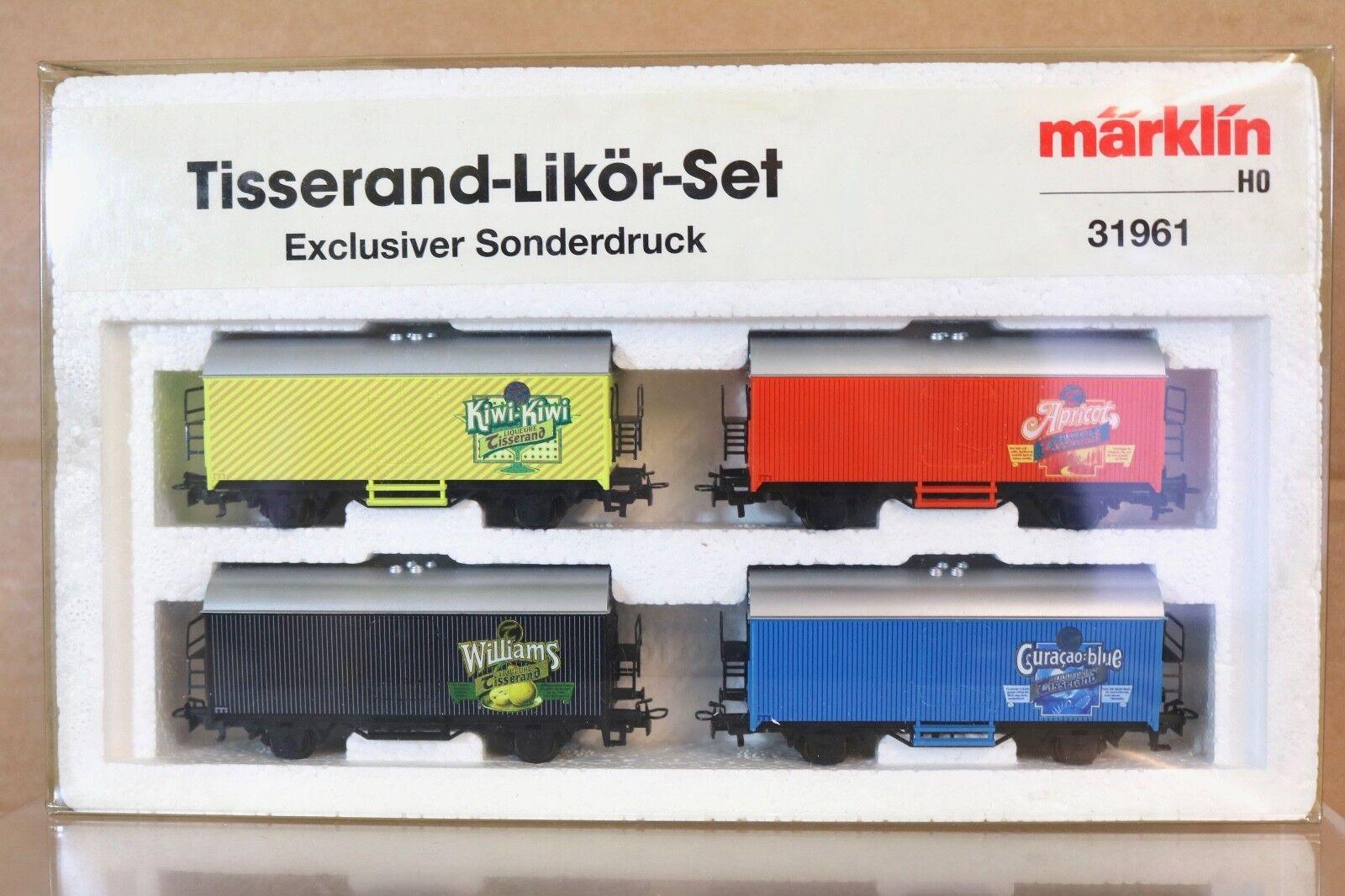 Marklin Märklin 31961 Tisserand Likor Liqueur Wagon Ensemble Nq