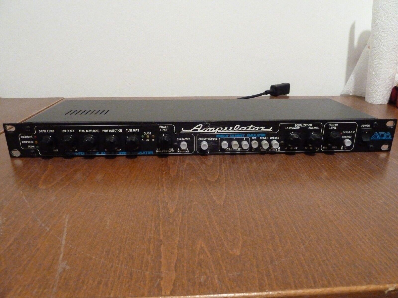 benvenuto a comprare Ada ampulator 12ax7 Tube Guitar Power Amp Simulator & & & Cabinet emulatore 220 Volt  garanzia di credito