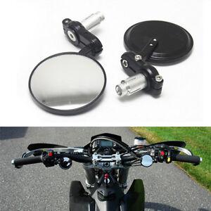 Motorcycle-7-8-034-Handle-Bar-End-Rear-View-Mirror-For-Honda-Suzuki-Kawasaki-Yamaha