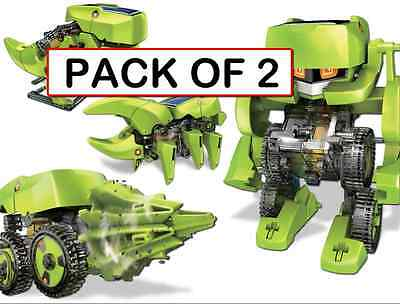 (CLASSPACK OF 2) OWI-MSK617 T4 Transforming Solar Robot DIY KIT