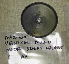 Emco Maximat Vertical Milling Motor Fan Flywheel  0201AV