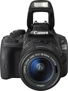Canon EOS 100D EF-S 18-55mm DCIII Digitale Spiegelreflexkamera KFZ