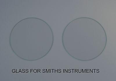 Glass For Smiths Instruments Jaguar XK120/140/150 Flat 5 inch (117.4mm x 2.8mm)