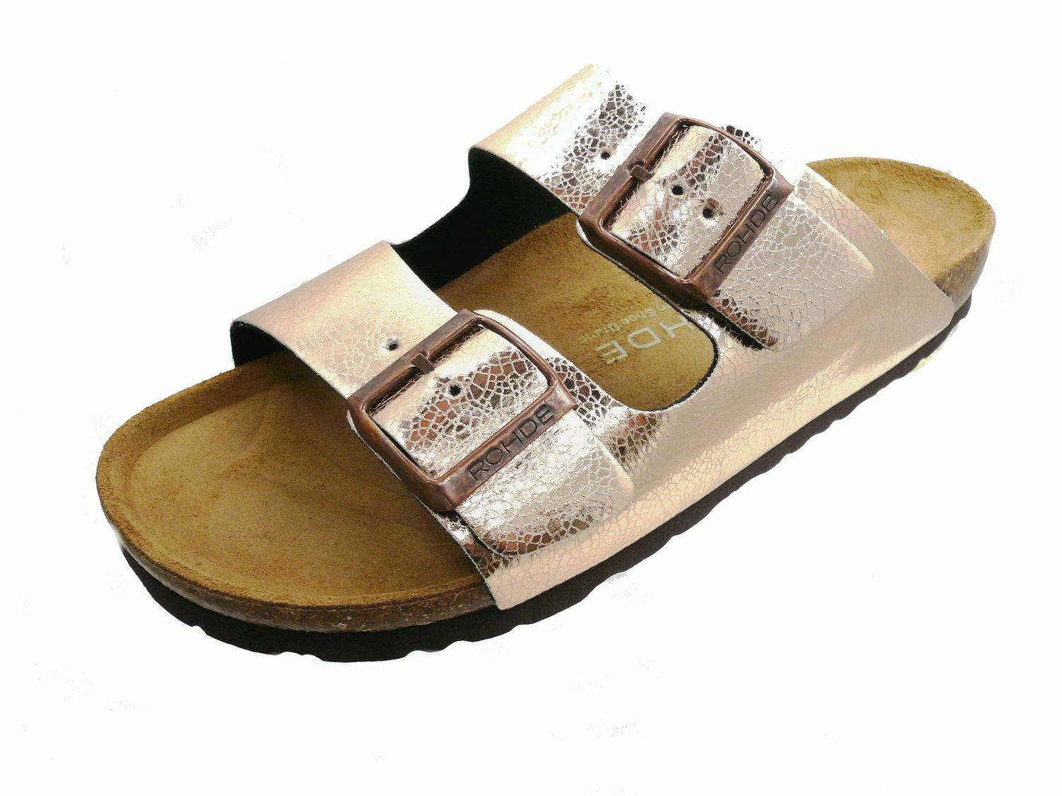 Rohde Alba 5616 running shoes be at home women mules copper sandal