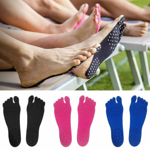 NAKEFIT Adhesive Foot Pads Feet Sticker Stick On Soles Flexible Feet Protection